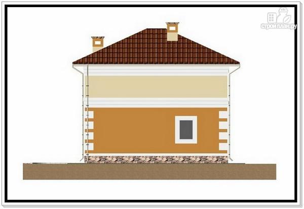 Фото 4: проект дом из пеноблоков с 4 х скатной крышей