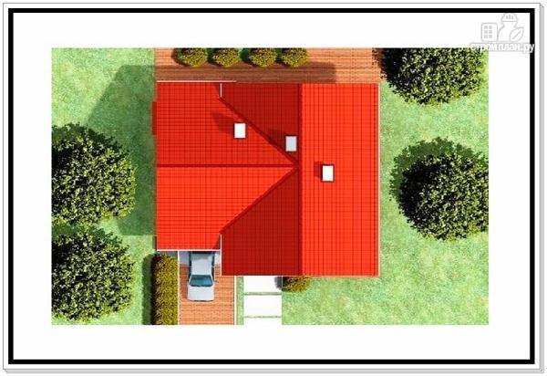 Фото 9: проект загородный дом из пеноблоков с гаражом