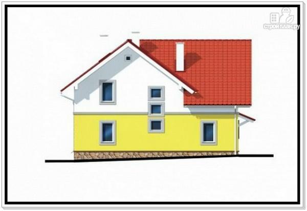 Фото 5: проект загородный дом из пеноблоков с гаражом
