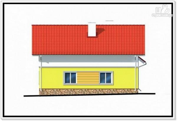 Фото 6: проект загородный дом из пеноблоков с гаражом