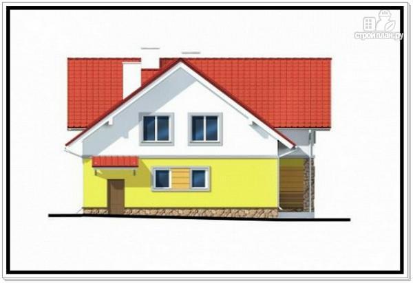 Фото 4: проект загородный дом из пеноблоков с гаражом