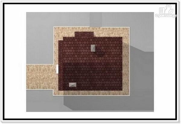 Фото 8: проект загородный дом из пеноблоков с террасой