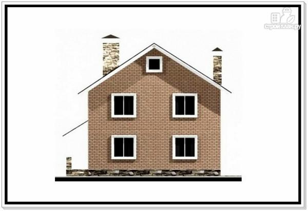 Фото 5: проект загородный дом из пеноблоков с террасой