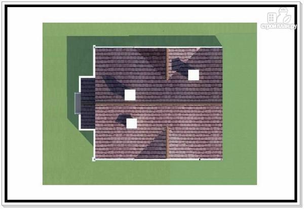 Фото 9: проект загородный дом из пеноблоков с балконом