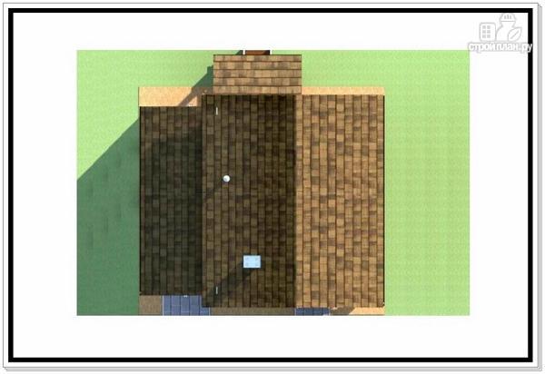 Фото 9: проект дом из пеноблоков с балконом