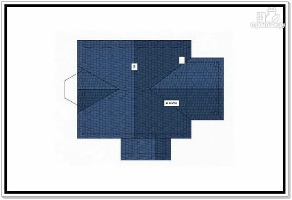 Фото 9: проект коттедж из пеноблоков с эркером и балконом