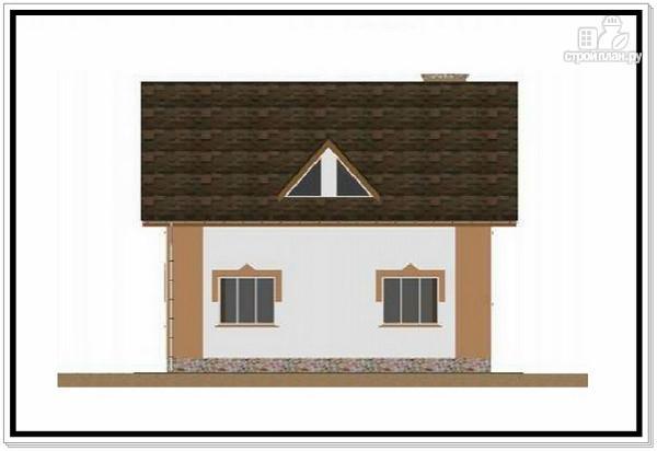 Фото 4: проект 1,5 этажный дом из пеноблоков