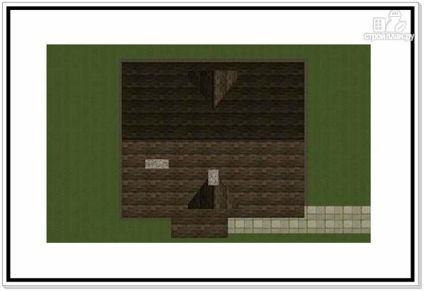 Фото 8: проект 1,5 этажный дом из пеноблоков