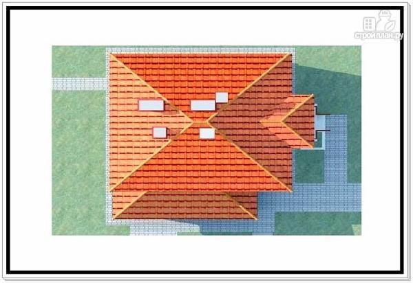 Фото 9: проект дом из пеноблоков с лоджией