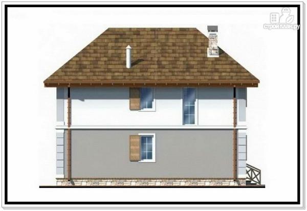 Фото 6: проект дом из пеноблоков с вальмовой крышей