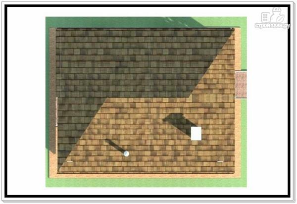 Фото 9: проект дом из пеноблоков с вальмовой крышей