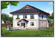 Проект дом из пеноблоков 9 на 12