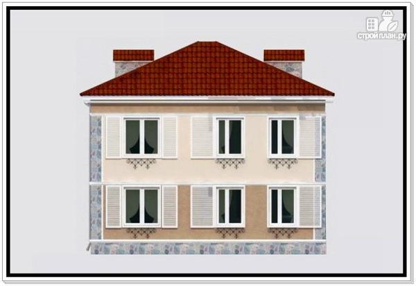 Фото 5: проект дом из пеноблоков 9 на 10 с 4хскатной крышей