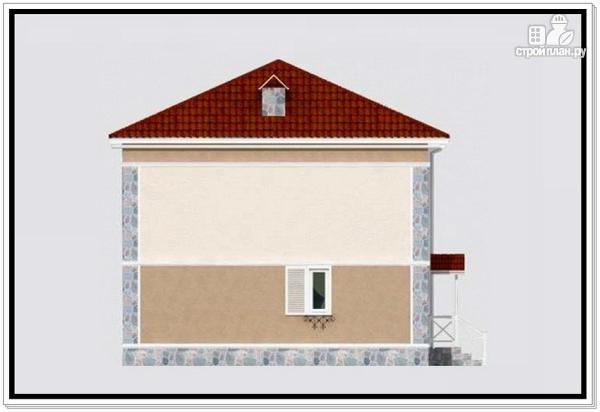 Фото 3: проект дом из пеноблоков 9 на 10 с 4хскатной крышей