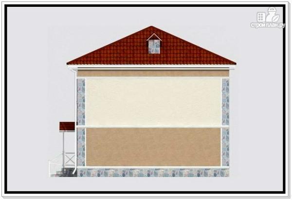 Фото 4: проект дом из пеноблоков 9 на 10 с 4хскатной крышей