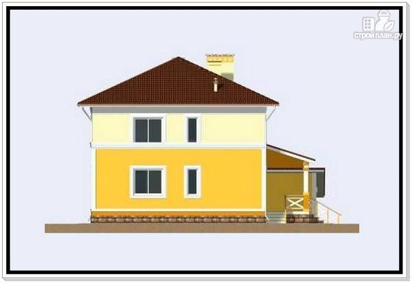 Фото 3: проект дом из пеноблоков 10 на 10 с гаражом
