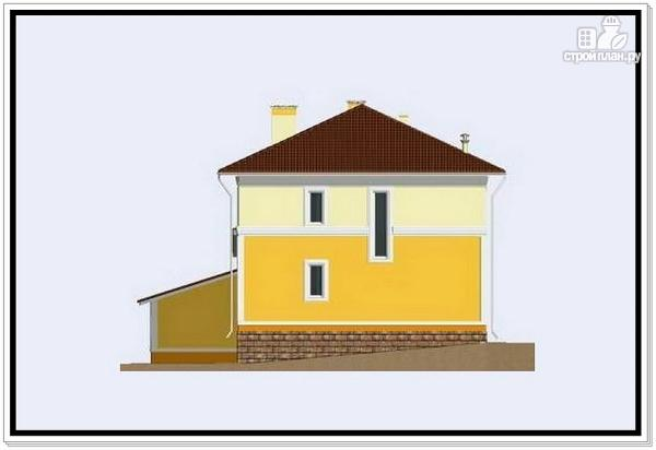 Фото 4: проект дом из пеноблоков 10 на 10 с гаражом