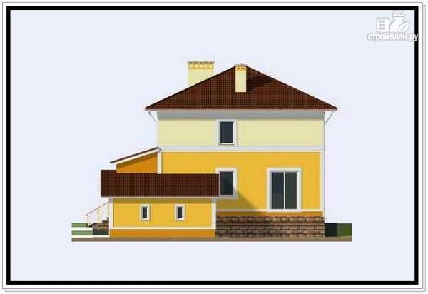 Фото 5: проект дом из пеноблоков 10 на 10 с гаражом