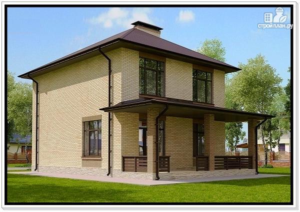 Фото 4: проект 2 этажный дом из пеноблоков