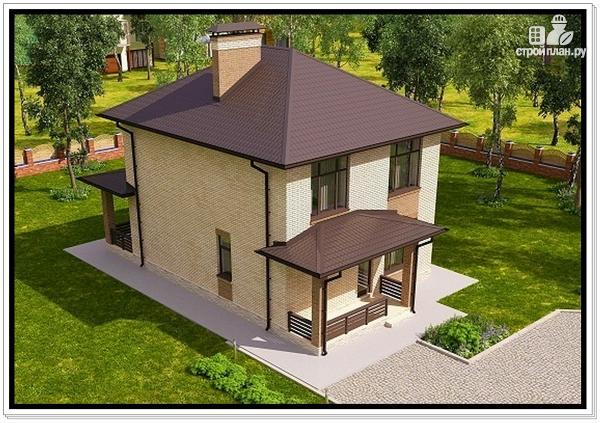 Фото 5: проект 2 этажный дом из пеноблоков