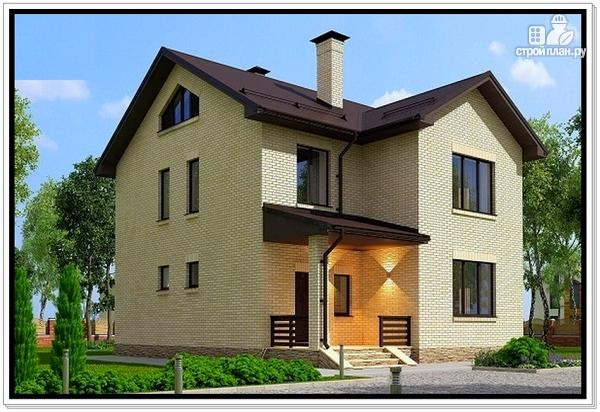 Фото 3: проект 2 х этажный дом из газобетона