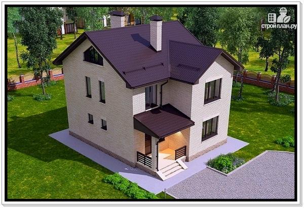 Фото 5: проект 2 х этажный дом из газобетона
