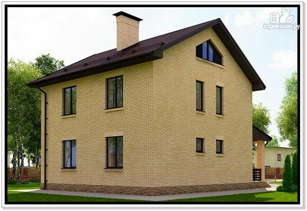 Фото 4: проект 2 х этажный дом из газобетона