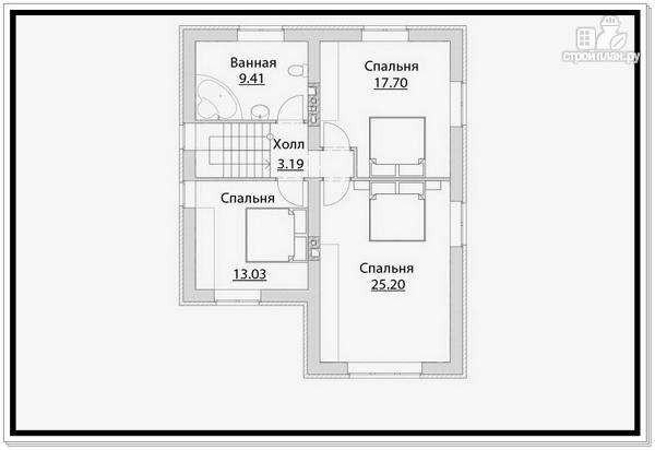 Фото 7: проект 2 х этажный дом из газобетона