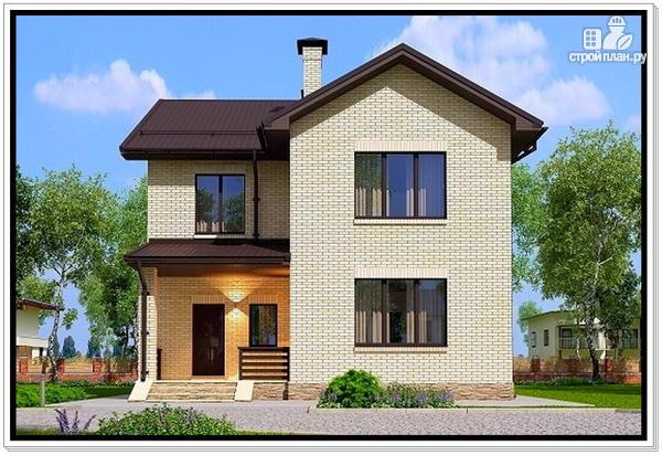Фото: проект 2 х этажный дом из газобетона