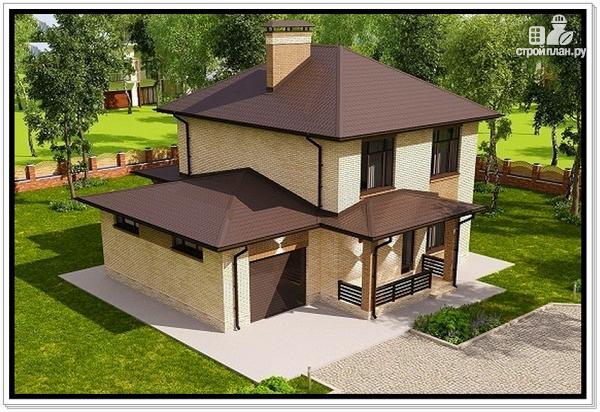 Фото 6: проект дом из газобетона с гаражом