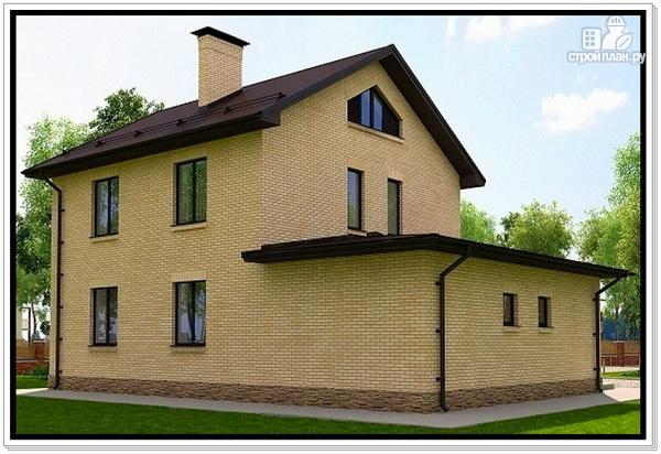 Фото 4: проект загородный дом из газобетона
