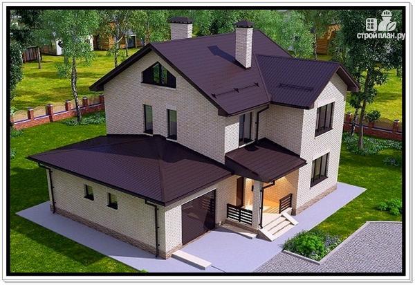 Фото 6: проект загородный дом из газобетона