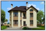 Фото: красивый дом из газобетона