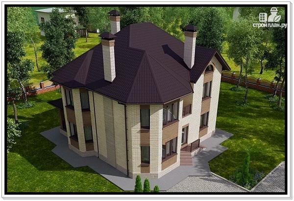 Фото 5: проект красивый дом из газобетона