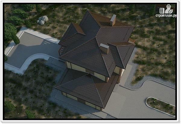Фото 6: проект 2 х этажный дом из газобетона с гаражом