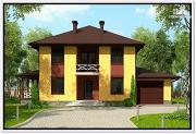 Проект дом из газобетона 10 на 14