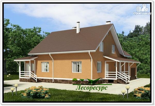 Фото 4: проект каркасноый дом для большой семьи