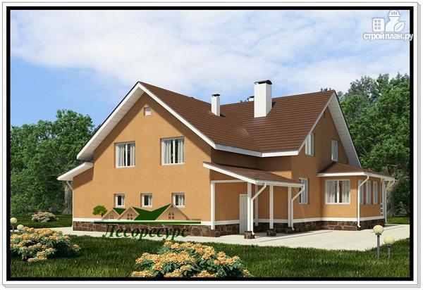 Фото 3: проект каркасноый дом для большой семьи