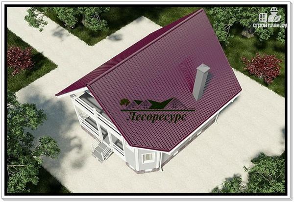 Фото 4: проект каркасноый дом для небольшого участка