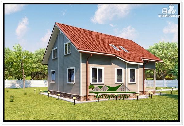 Фото 3: проект каркасный дом 9 на 10