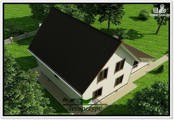Фото 6: проект каркасный дом для постоянного проживания