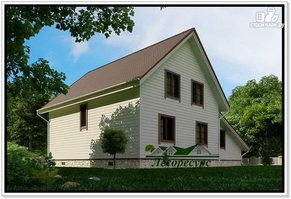 Фото 3: проект каркасный дом для постоянного проживания