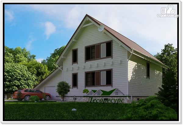 Фото 4: проект каркасный дом для постоянного проживания