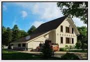 Фото: каркасный дом для постоянного проживания
