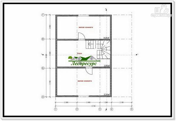 Фото 7: проект каркасный дом с удлиненной крышей