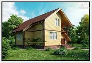 Проект каркасный дом 11 на 11