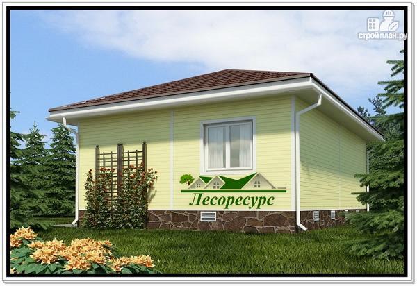 Фото 2: проект каркасный дом с вальмовой крышей