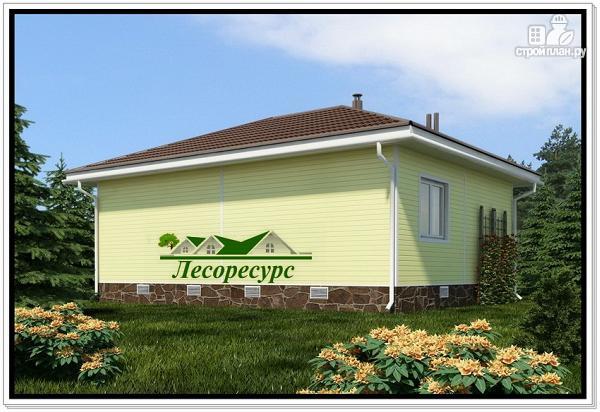 Фото 3: проект каркасный дом с вальмовой крышей