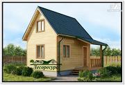 Проект дом 4 на 5 из бруса