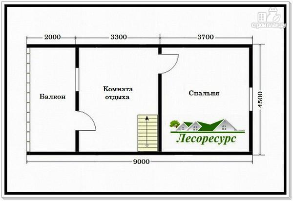 Фото 3: проект дом с большой кухней – гостиной